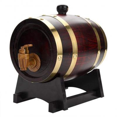 GOTOTOP 5L 10L Botte Legno Botte di Vino Dispenser