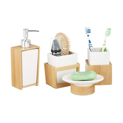 Relaxdays 10022205 Set Accessori Bagno